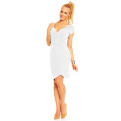 Dámské a těhotenské šaty CARLA, KR - Bílá
