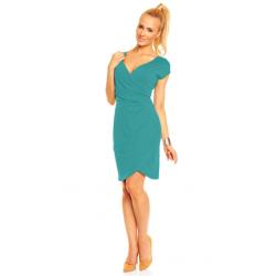 Dámské a těhotenské šaty CARLA, KR - Mořská zeleň