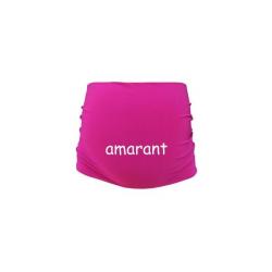 Těhotenský pás - amarant