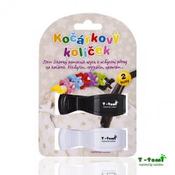 Kočárkový kolíček T-Tomi - Bílá/Černá