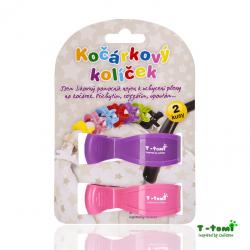 Kočárkový kolíček T-Tomi - Fialová/Růžová