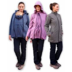Softshellová bunda STELLA 1 pro těhotné a pro dva - Antracit