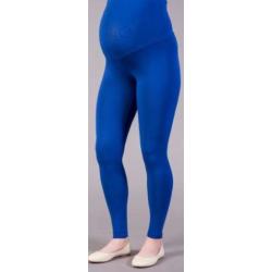 Dlouhé těhotenské legíny - Modrá chrpa