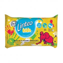 Vlhčené ubrousky do školy Linteo Kids, 15ks
