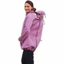 Softshellová bunda SANDRA pro těhotné a pro dva (nošení vpředu/vzadu) - Růžová