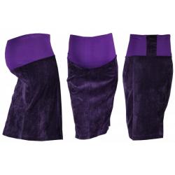 Těhotenská sukně MALO - fialová