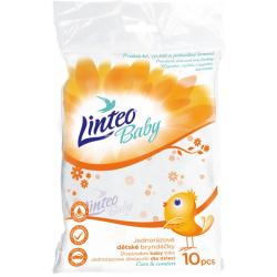 Jednorázové bryndáčky Linteo Baby, 10 ks