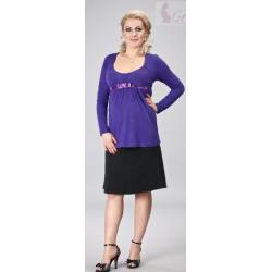 Teplá těhotenská sukně BAFIA