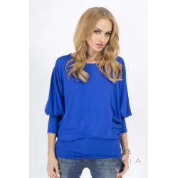 Halenka/tričko Makadamia 8553 - Modrá