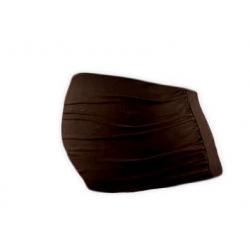 Bavlněný těhotenský pás Jožánek - Čokoládově hnědá
