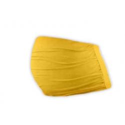 Bavlněný těhotenský pás Jožánek - Žlutooranžová