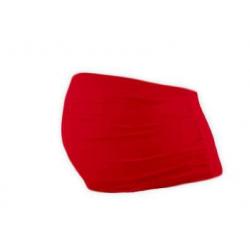 Bavlněný těhotenský pás Jožánek - Červená