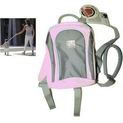Batoh dětský - vodící, růžový