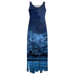 Dámské dlouhé šaty Colour Pleasure CP-028 178
