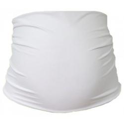 Těhotenský pás Bavlna - bílý