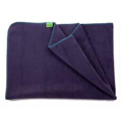 Fleecová deka do kočárku lehká 70x100cm - Fialová