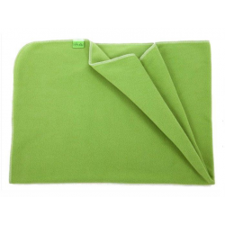 Fleecová deka do kočárku lehká 70x100cm - Zelená