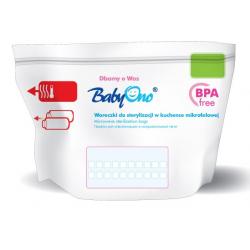 Sáčky pro sterilizaci v mikrovlnné troubě BabyOno, 5ks