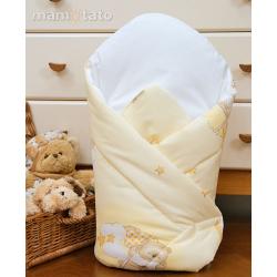 Zavinovačka Medvídek na obláčku - Žlutá