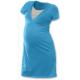 Noční košile pro těhotné a kojící matky JOŽÁNEK, KR -Tyrkys