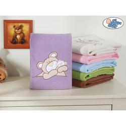 """Dětská deka kolekce """"MÉĎA BARNABÁŠ"""" - fialová"""