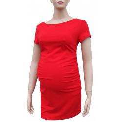 Těhotenská tunika KAZA - Červená