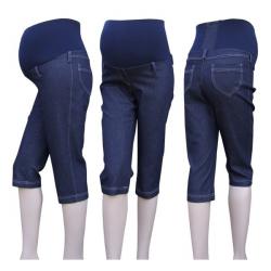 3/4 těhotenské jeans kalhoty KOMO