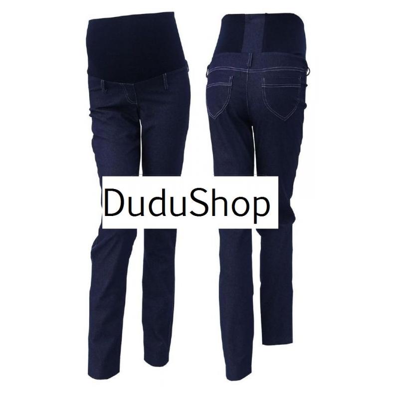 13e9686d2774 Těhotenské jeans - rovné (trubky) ZAN - DuduShop