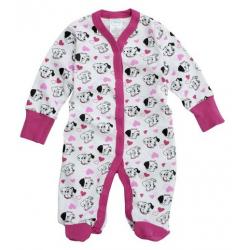 Dětský overal - pyžamko Dalmatin