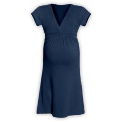Těhotenské šaty ŠARLOTA , KR - Jeans