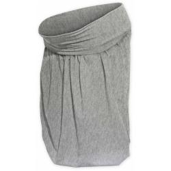Balonová sukně SABINA - Šedý melír