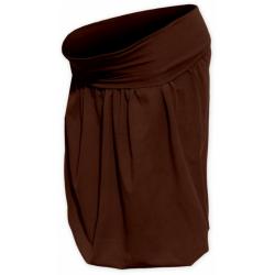 Balonová sukně SABINA - Hnědá