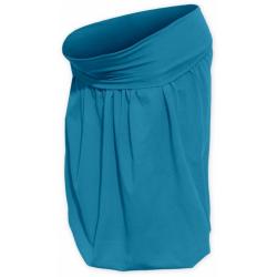 Balonová sukně SABINA - Petrolejová (tmavý tyrkys)