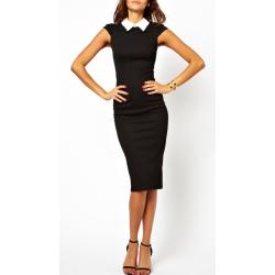 Klasické šaty Nicola - černá