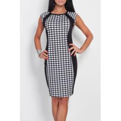 Dvoubarevné šaty - pepito