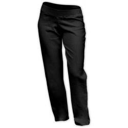 Lněné těhotenské kalhoty Jožánek, délka 77cm - Černá
