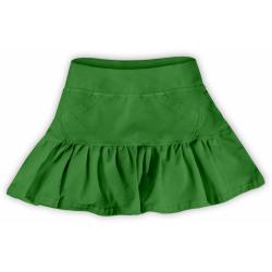 Dívčí sukýnka JOŽÁNEK - Tmavě zelená