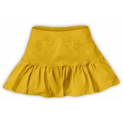 Dívčí sukýnka JOŽÁNEK - Žlutooranžová