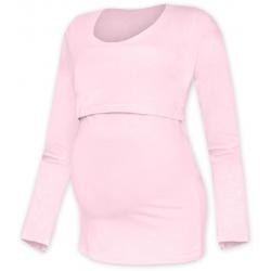 Tričko pro snadné kojení KATEŘINA, DR - Světle růžová