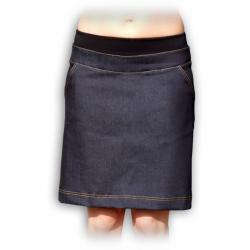 Riflová těhotenská sukně KRISTÝNA - Jeans