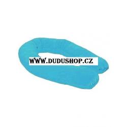 Univerzální polštář 190cm - modrý